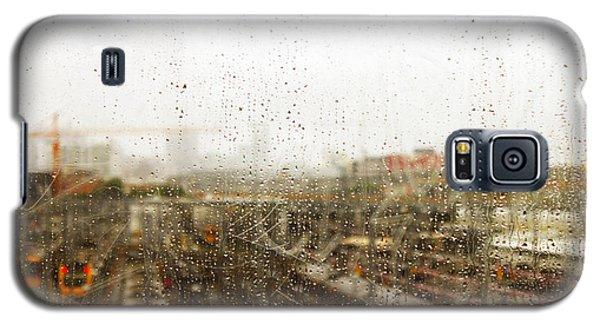 Train In The Rain Galaxy S5 Case