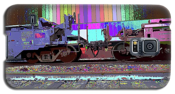 Train Parked Galaxy S5 Case