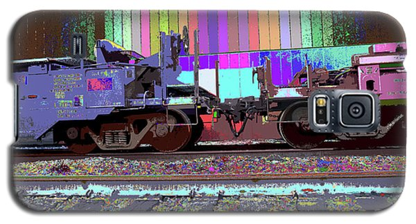 Train Parked Galaxy S5 Case