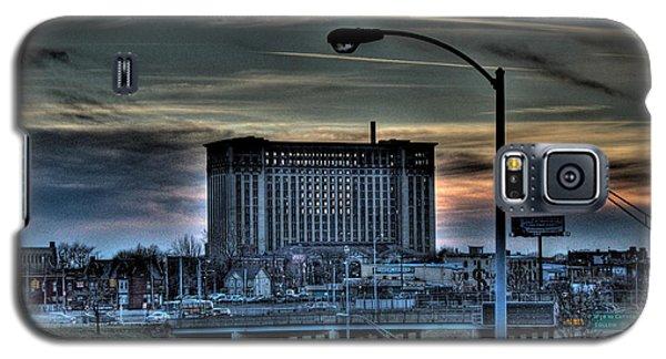 Train Station Detroit Mi Galaxy S5 Case by Nicholas  Grunas