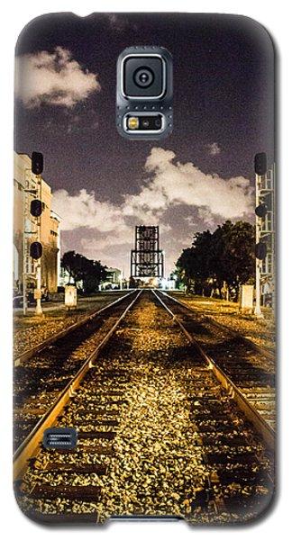 Train Tracks Galaxy S5 Case