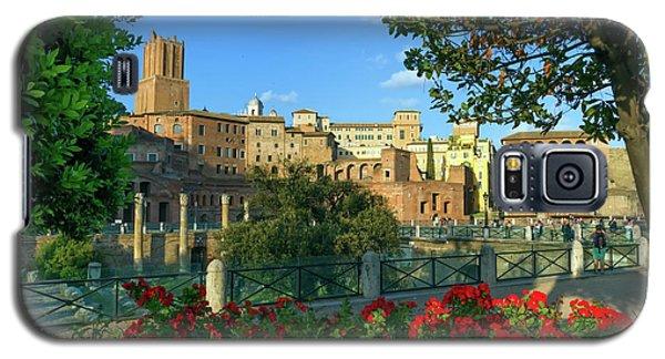 Trajan's Forum, Traiani, Roma, Italy Galaxy S5 Case