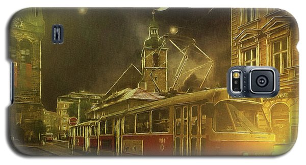 Tramatic - Prague Street Scene Galaxy S5 Case