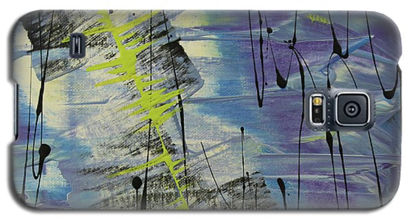 Galaxy S5 Case featuring the painting Tranquil Dream I by Cathy Beharriell