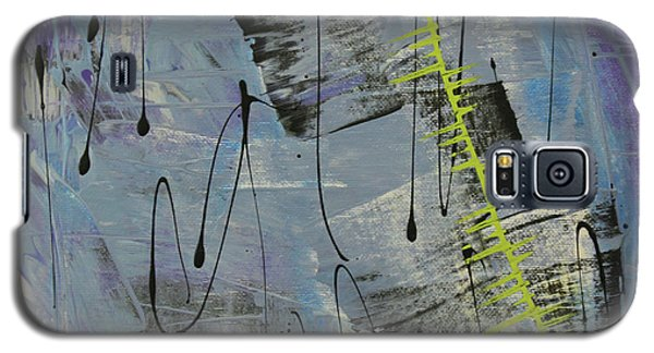 Galaxy S5 Case featuring the painting Tranquil Dream II by Cathy Beharriell