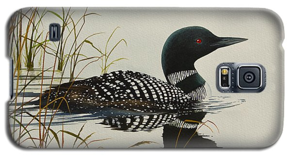 Loon Galaxy S5 Case - Tranquil Stillness Of Nature by James Williamson