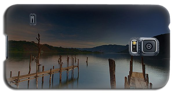Tranquility At Atitlan Galaxy S5 Case