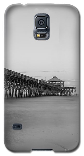 Tranquility At Folly Grayscale Galaxy S5 Case