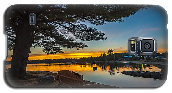 Tranquility At Sunset Galaxy S5 Case