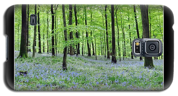 Galaxy S5 Case featuring the photograph Tranquility - Bluebells In Woods by Geraldine Alexander