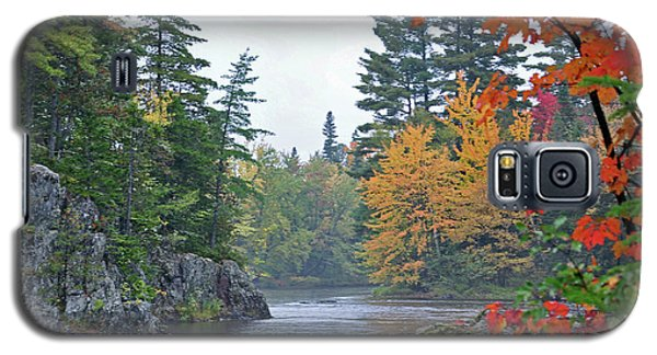 Galaxy S5 Case featuring the photograph Autumn Tranquility by Glenn Gordon