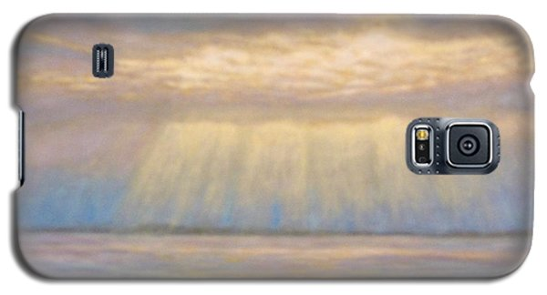 Galaxy S5 Case featuring the painting Tranquility by Joe Bergholm