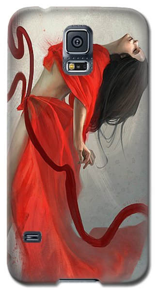 Galaxy S5 Case featuring the digital art Transcended by Steve Goad