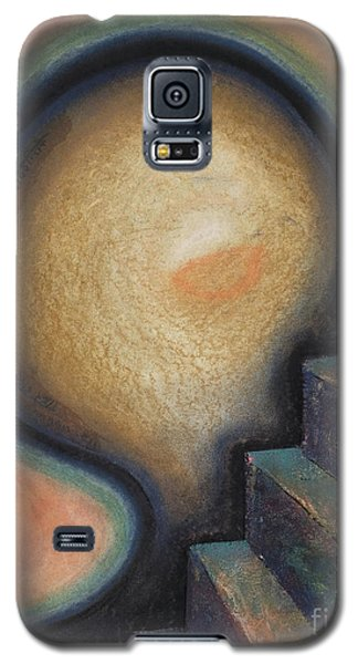 Galaxy S5 Case featuring the painting Transcendence by Mini Arora