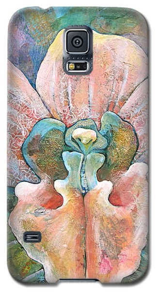 Orchid Galaxy S5 Case - Transcendence by Shadia Derbyshire
