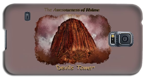 Transcendent Devils Tower 2 Galaxy S5 Case