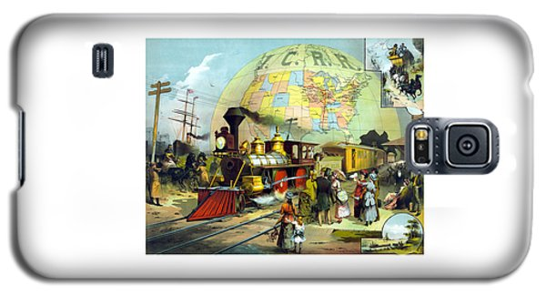 Train Galaxy S5 Case - Transcontinental Railroad by War Is Hell Store