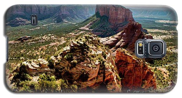 Transept Mountains 04-089 Galaxy S5 Case by Scott McAllister