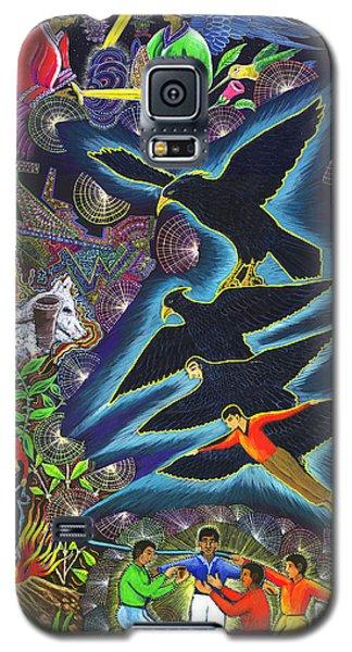 Transformacion Del Chaman En Aguila  Galaxy S5 Case