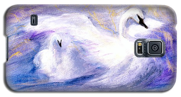 Galaxy S5 Case featuring the painting Transformation by Gail Kirtz