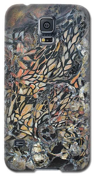 Galaxy S5 Case featuring the mixed media Transformation by Joanne Smoley