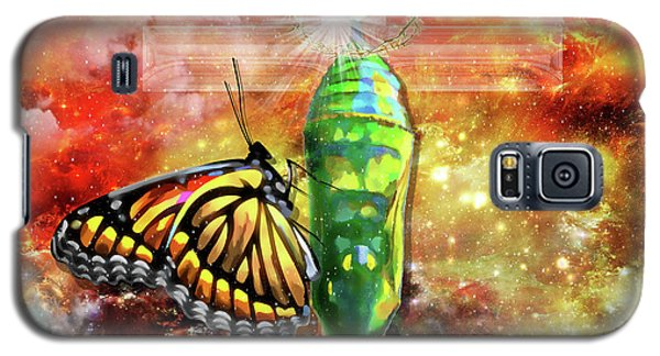 Transformed By The Truth Galaxy S5 Case by Dolores Develde