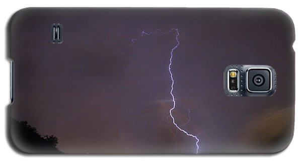 Galaxy S5 Case featuring the photograph It's A Hit Transformer Lightning Strike by James BO Insogna