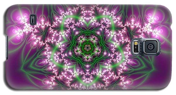 Galaxy S5 Case featuring the digital art Transition Flower 5 Beats by Robert Thalmeier