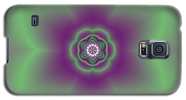 Galaxy S5 Case featuring the digital art Transition Flower 6 Beats 2 by Robert Thalmeier