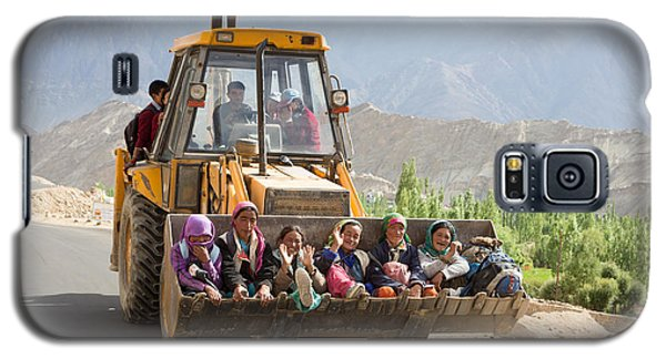 Transport In Ladakh, India Galaxy S5 Case