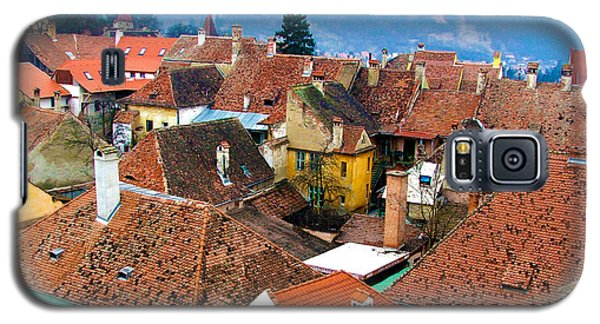 Transylvania Rooftops Galaxy S5 Case