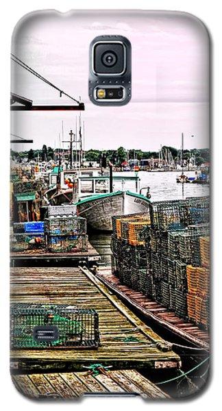 Traps Portland Maine Galaxy S5 Case by Tom Prendergast