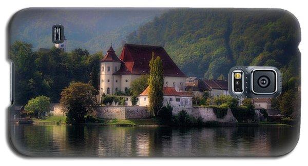 Galaxy S5 Case featuring the photograph Traunkirchen - Austria by Ellen Heaverlo