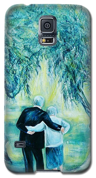 Travel Notebook.olive Groves Galaxy S5 Case