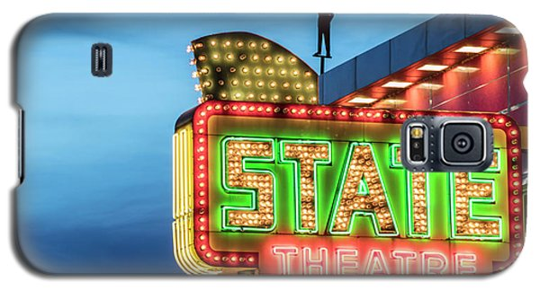 Galaxy S5 Case featuring the photograph Traverse City State Theatre by John McGraw