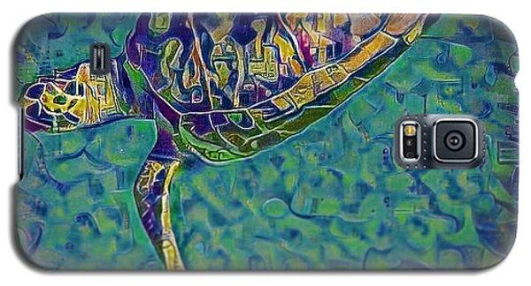 Travis The Turtle Galaxy S5 Case by Erika Swartzkopf