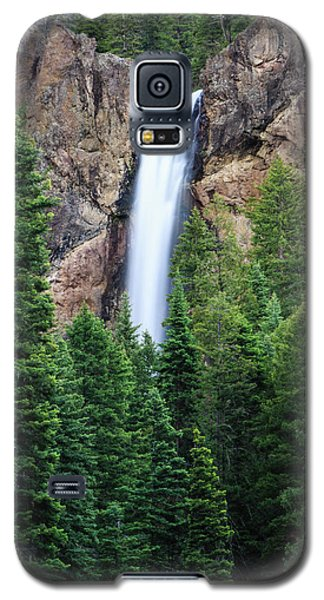 Galaxy S5 Case featuring the photograph Treasure Falls by David Chandler
