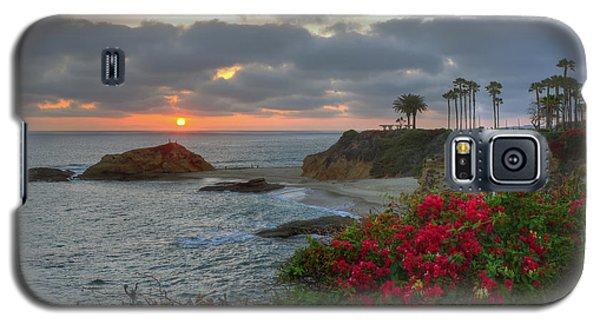 Galaxy S5 Case featuring the photograph Treasure Island Beach Shoreline by Eddie Yerkish