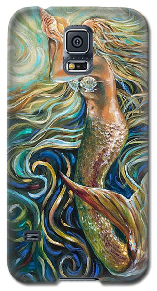 Treasure Mermaid Galaxy S5 Case