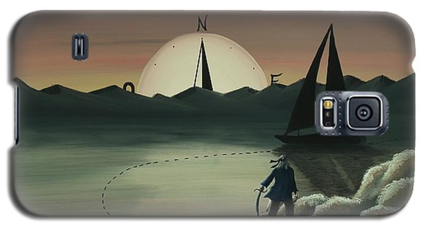 Treasure Path Galaxy S5 Case by Edwin Alverio