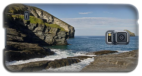 Trebarwith Strand In North East Cornwall Galaxy S5 Case
