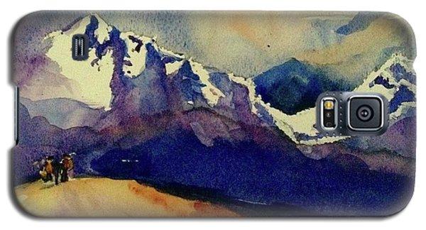 Trecking Galaxy S5 Case by Annie Poitras