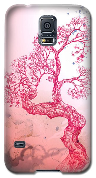 Tree 14 Hybrid 1 Galaxy S5 Case