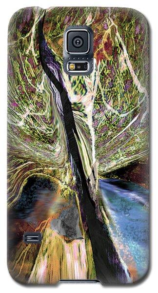Tree Bent By Wind Galaxy S5 Case