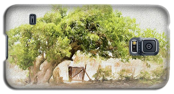 Tree By The Gate Galaxy S5 Case