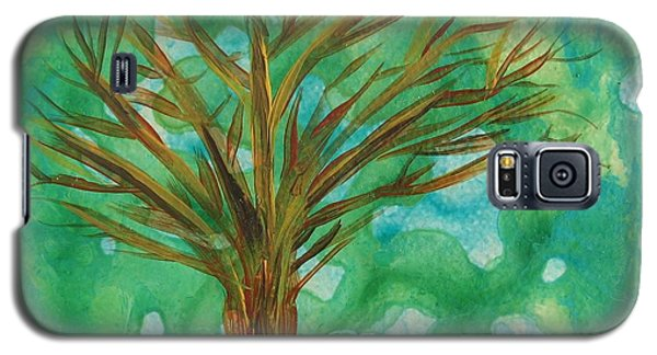 Galaxy S5 Case featuring the painting Tree by Corinne Carroll
