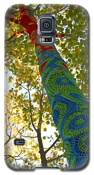 Tree Crochet Galaxy S5 Case