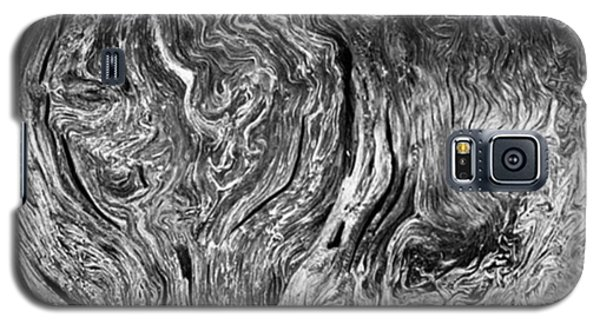 Famous Artist Galaxy S5 Case - Tree Cross Section Abstract. Taken In by Alex Snay