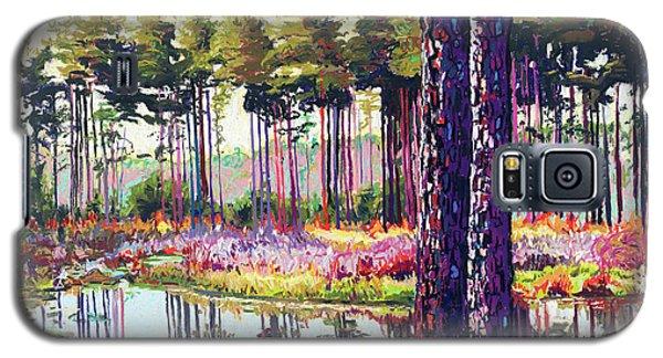 Tree Farm II Galaxy S5 Case by David Randall