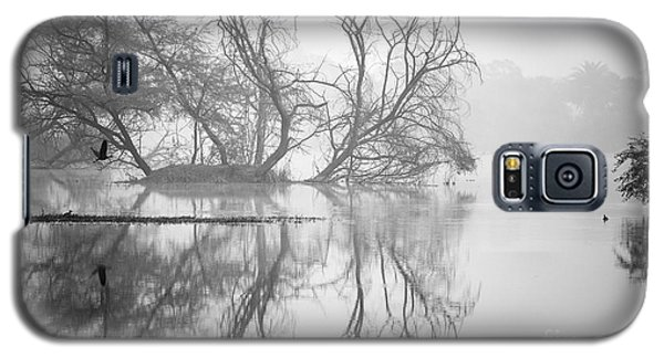 Tree In A Lake Galaxy S5 Case by Pravine Chester